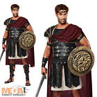 Deluxe Roman Gladiator Mens Fancy Dress Warrior Adult Male Gents Costume Outfit
