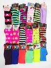 Ladies Womens Girls Over The Knee Long Socks Christmas Xmas Gift UK 4-7 EU35-38