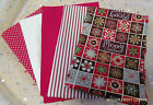Christmas Cotton Fabric Bundle - 100% best quality cotton fat quarters