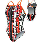 Nike ~ Labyrinth Cut Out Tank Women's One Piece Swimsuit Size 12 NWT $88