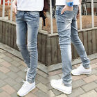 New Men's or Girl's Slim Fashion Denim Trousers Pencil Pants Feet Snow Pants R74