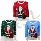 MENS LADIES 70's JUMPER SWEATER CHRISTMAS SNOWMAN REINDEER FAIRISLE S M L XL XXL