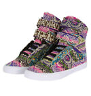 Supra Society SW34008 Womens Hi Top Trainers Multi/White
