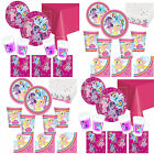 My Little Pony Girls Essential Birthday Party Kits Plates, Cups, 8-40 guests