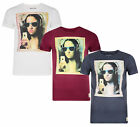 Blend New Men's Slim Fit Mona Lisa Grafty Woman Print T-Shirt Jersey Cotton Top