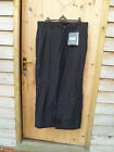 HELLY HANSEN TRANS PANTS SKI BOARD BLACK WATERPROOF BREATHABLE INSULATED XL NEW
