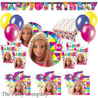 Barbie Birthday Party Supplies, Plates, Cups, Decorations, Great Prices !!