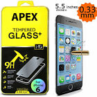 PREMIUM REAL TEMPER GLASS SCREEN PROTECTOR FOR 5.5 INCH APPLE IPHONE 6 PLUS