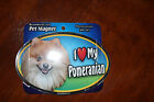 I Love My Dog Oval Magnet  You Choose Your Breed  P-S