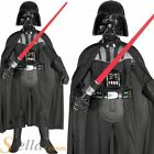 Boys Deluxe Darth Vader Costume Star Wars Fancy Dress Child Outfit £19.98 GBP