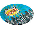 Superhero Boys Girls Birthday Party Plates for 8,16, 24, 32 or 40 guests!!