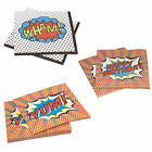 Superhero Birthday Party Napkins for 20, 40 or 60 guests!!