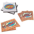 Superhero Birthday Party Wham Napkins for 20, 40 or 60 guests!!