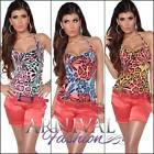 NEW SEXY SUMMER TOPS FOR LADIES wear size XS S M CASUAL SHIRTS women's print top