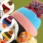 Baby Kids Girl Boy Cute Paws Style Toddler Crochet Beanie Hat Cap MZ2119