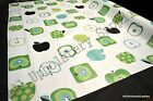 Assorted Green Apple PVC Tablecloth ALL Sizes Wipe Clean Vinyl Oilcloth  Quality