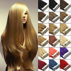 100% Remy Human Hair Extensions 18''Super 3M Tape in Straight Hair 20Pcs 19Color