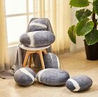FIXED STAR LIGHT GREY STONES SHAPE PILLOWCASE/CUSHION COVER/SHELL(WITHOUT STUFF)