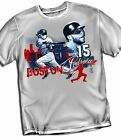 Dustin Pedroia Boston Red Sox Big City Style T-Shirt Adult Sizes