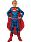 Child Superman Fancy Dress Costume Book Week Superhero Man of Steel Kids Boys