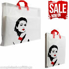 NEW FLEXI LOOP PRINCESS DESIGN PRINTED CARRIER BAGS STRONG GIFT PARTY BAG