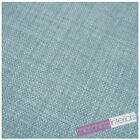 Duck Egg Fabric Soft Linen Look Polyester Material Textiles Upholstery Cushion