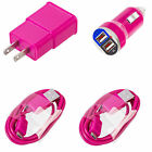 SAMSUNG GALAXY S4 S3 S2 Micro USB Data Cable Car & Home Wall Charger OEM Quality