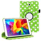 """360 Rotating Swivel PU Leather Case Cover for Samsung Galaxy Tab 4 7"""" SM-T230"""