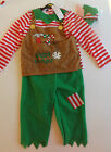 Childrens Santa's Elf Christmas Dress Up Outfit New with Tags - Choose Size