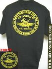 3RD ANGLICO T-SHIRT/ MILITARY/ USMC/ NEW/ BLACK/ THICK T-SHIRT/  NEW