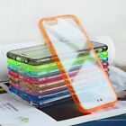 Silicone Gel TPU Bumper Cover Case Clear Back for iPhone 6 6 PLUS 5S 5 5C 4 4S