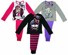 Girl's Monster High Draculaura Clawdeen Wolf Skull Pyjamas 8 10 12 14 Years NEW