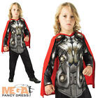 The Dark World Thor + Cape Boys Fancy Dress Avengers Superhero Costume Outfit