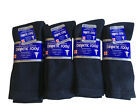 Diabetic CREW circulatory Socks Health Men's Cotton SIZE up to 13-15 NWT
