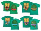 Authentic TMNT Teenage Mutant Ninja Turtles Costume Adult T-Shirt Tee NEW XS-3XL