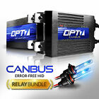 OPT7 AC 55W CanBUS 9006 HID Kit w/Relay Harness Bundle ¦ All Xenon Light Colors on eBay