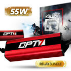 OPT7 35w S2 HID Kit - 9006 - Relay Bundle All Xenon Color Bulbs Headlights on eBay