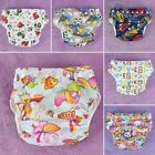 New TPU printed baby cloth diapers breathable waterproof washable Diaper pants