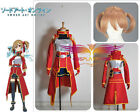 Sword Art Online Silica/ Keiko Ayano Red Dress Cosplay Costumes With Wig