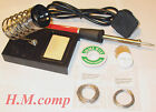 Soldering Iron - Soldering Kit , Solder Wire, Flux, Desoldering Braid, Kit 2#