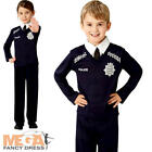 Police Officer Kids Fancy Dress Cop PC Occupation Uniform Boys Girls Costume New