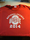 t-shirt Ohio State National Champs CHAMPIONS 3XL-Med choose colors Buckeyes 2014