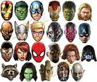 OFFICIAL Marvel Super Hero Card Party Face Masks Mask The Avengers GRAND CHOIX!