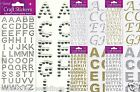 57+ Self Adhesive Glitter Diamante Alphabet Letters Favour Embellishment Craft