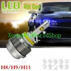4th Gen 30W 4000LM LED Headlight Bulb x1 H4 H11 H9 H8 H7 H1 9005 9006 H13 9007/4