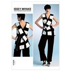 Vogue 1309 Designer Issey Miyake Tunic Top Trousers Pants Sewing Pattern V1309