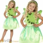 Girls Forest Fairy Costume Pixie Fairytale Tinkerbell Fancy Dress Child Outfit