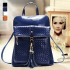 New women Ladies Backpacks Students Small Bags Leather Shoulders Backpack