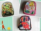 New Tinkerbell Spiderman Teenage Mutant Ninja Turtles Large School Bag/Backpack
