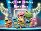Hugglemonster edible icing cake toppers. View 3 images Select + personalise!